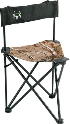 Lightweight, heavy-duty comfort for long days in your blind. The rugged, powder-coated steel frame on the Ameristep Bone Collector Field Chair folds up, and at only 4 lbs., its simple to transport. Noise-reducing, NS3 fabric with a padded backrest. Imported. Seat height: 17. Type: Chairs. - $14.88