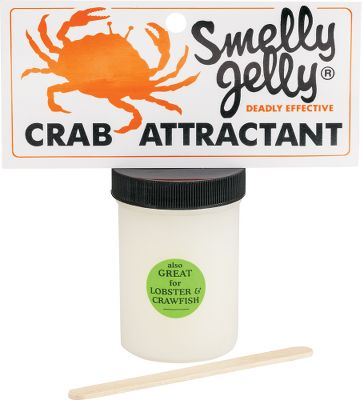 Fishing Specifically formulated to attract crab, this scent is long-lasting and easy to apply. Custom blended and gel-based, it is nontoxic and bio-safe. Size: 4-oz. jar. Type: Attractants. - $6.79