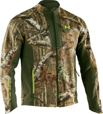 Hunting The ColdGear Infrared printed interior of this Under Armour Infrared Ridge Reaper Jacket traps body heat, providing maximum heat with minimal bulk. Rugged, silent polyester fabric is wind- and water-resistant and incorporates UAs Scent Control technology, letting you stalk your trophy undetected. Zippered front chest pockets secure your essentials. Designed to improve comfort when wearing a backpack. Imported.Sizes: M-2XL.Camo patterns: Realtree XTRA, Mossy Oak Break-Up Infinity. Size 2xl. Color Realtree Xtra. - $199.99