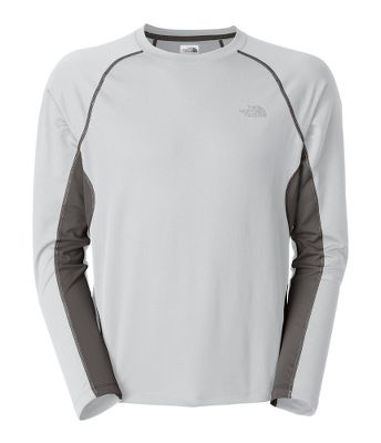 Fitness Lightweight and ultrabreathable, the GTD long-sleeve crew is geared to provide optimal outdoor training performance under variable conditions. Featuring FlashDry technology, this shirt uses body-mapped ventilation and moisture-wicking fabric to improve dry time and keep you cool. Reflective logo on left chest. 100% double-knit polyester. Imported.Sizes: M-2XL.Colors: Cosmic Blue/Nautical Blue, High Rise Grey/Graphite Grey. - $29.88