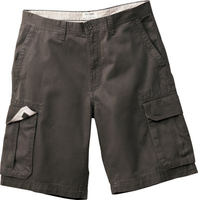 Your active outdoor lifestyle demands a pair of cargo shorts with a comfortable classic fit. Microsanded for a soft-to-the-touch feel, these Epic Twill Urban Cargo Shorts deliver the durability you need. Double-needle-stitched construction and reinforced stitching on the cargo pockets ensures that theyll last for years. 100% cotton. Imported. Inseam: 10. Even waist sizes: 30-44. Colors: Olive, Stone, British Khaki, Dark Olive, Grey. Size: 32. Color: Grey. Gender: Male. Age Group: Adult. Material: Twill. Type: Shorts. - $29.99