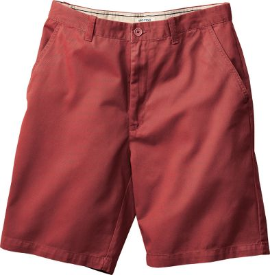 Hit the trails in rugged, no-nonsense shorts. Microsanded for a soft-to-the-touch feel, these Epic Flat-Front Twill Shorts offer outstanding durability. Comfortable classic fit. Button-through back pockets keep essentials secure. 100% cotton. Machine washable. Imported.Even waist sizes: 30-44.Inseam: 10.Colors: Khaki, Cobalt, Stone, Red Coral. Type: Shorts. Size: 34. Color: Cobalt. Size 34. Color Cobalt. - $7.88