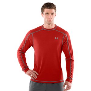 Fitness Our Men's UA Catalyst Waffle Crew II is soft, comfortable, and built with moisture-wicking AllSeasonGear(R) fabric. So, on the mountain or off, you're always dry and comfortable. The streamlined, athletic fit delivers lots of bulk-free mobility. And the extras, like anti-odor technology and our 4-way stretch fabric, make this thermal the only one built specifically for athletes. And the best part? It's made from 100% recycled materials. Recycled plastic bottles to be exact. So no matter what color you choose...the Men's UA Catalyst Waffle Crew is always good and green. Spun recycled polyester feels, soft, natural, and performs like Under Armour(R)Lightweight, 4-way stretch construction improves mobility and accelerates dry timeSignature Moisture Transport System wicks away sweat to keep you dry, light, and comfortableAnti-odor technology prevents the growth of odor-causing microbes, keeping your gear fresher, longerClassic waffle texture traps heat to keep you warm and comfortableContrast ergonomic flatlock seams provide a chafe-free range of motionRibbed cuffs and collar add some extra stretch100% Recycled PolyesterImported - $24.99