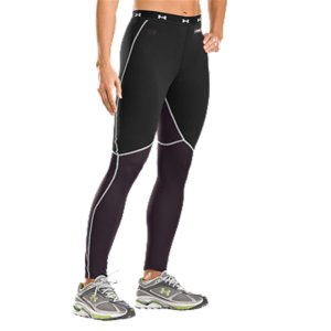 Fitness UA Base(TM) works double-time in these cold-weather leggings. Thicker UA Base(TM) 2.0 surrounds you with warmth. Thinner UA Base(R) 1.0 fabric on the inner thighs and lower leg wicks moisture as you work up a sweat. Because you're dry and warm, you'll perform better, fatigue slower, and stay comfortable longer. Throw in anti-odor technology and chafe-free flatlock seams. Take on the temp and win. Mid-weight UA Base(TM) 2.0 fabric through hips and thighs with lighter weight UA Base(TM) 1.0 fabric throughout lower legsLightweight 4-way stretch fabrication improves range of motion and dries fasterMoisture Transport System wicks away sweat to keep you dry and comfortableAnti-odor technology prevents microbe growth that causes odorLeggings built with smooth flatlock seams and strategically placed ergonomic seams to reduce abrasionStrategic vent zones built into key heat-dumping points keep you cool, dry, and comfortable100% PolyesterImported - $29.99
