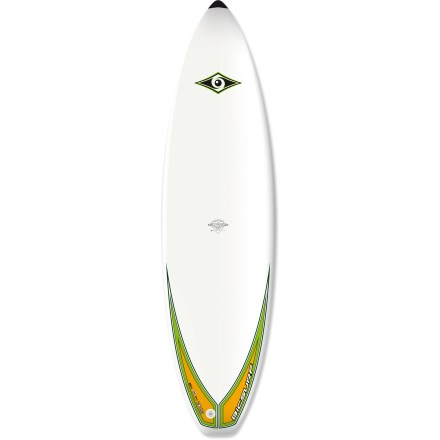 Surf If you're ready for something more nimble than a longboard but still want a little stability, get stoked to ride the shorter, more maneuverable BIC Sport ACS 6 ft. 7 in. Shortboad surfboard. Foam-injected polyurethane board offers excellent buoyancy and durability. Tapered nose and 6 ft. 7 in. length enhances maneuverability for medium-sized riders; consistent 2.4 in. thickness adds stability. FCS fin system features 3 removable fins (1 center and 2 side) to aid straight tracking in the water. Closeout. - $229.73