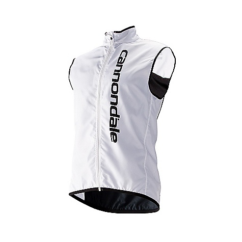 Free Shipping. Cannondale Men's Elite Vest DECENT FEATURES of Cannondale Men's Elite Vest Full front exposed zipper with wind guard Mesh back ventilation for improved breathability Brushed inside collar 3 elastic back pockets Reflective accents add visibility The SPECS Fabric: 100% polyester Fit: Semi-fitted - $69.95