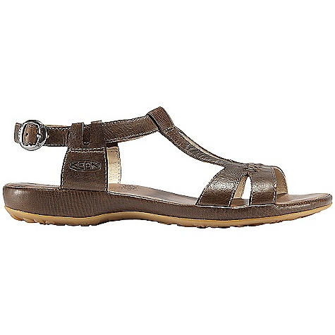 Surf Free Shipping. Keen Women's Emerald City Sandal DECENT FEATURES of the Keen Women's Emerald City Sandal Burnished leather footbed lining Full-grain leather upper Leather lining Leather wrapped midsole Non-marking natural rubber outsole Fit Tip: Keen says this style runs pretty true to size and offers a in.fuller fitin. The SPECS Weight: 6.36 oz / 180 g Lining: Leather Upper: Full-grain leather Rubber: Non-marking rubber outsole - $89.95