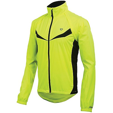 Fitness Free Shipping. Pearl Izumi Men's Elite Barrier Convertible Jacket DECENT FEATURES of Pearl Izumi Men's Elite Barrier Convertible Jacket Provides superior wind protection and water resistance Direct-Vent panels provide superior ventilation Full length internal draft flap with zipper garage seals in warmth One hand pull elastic draw cord at waist Two hand pockets Reflective elements for low-light visibility One piece integrated sleeve construction for ease of use and storage Fit: Semi Form The SPECS Body: 100% polyester Weight: 90 g/m2 Lining: 100% polyester - $109.95