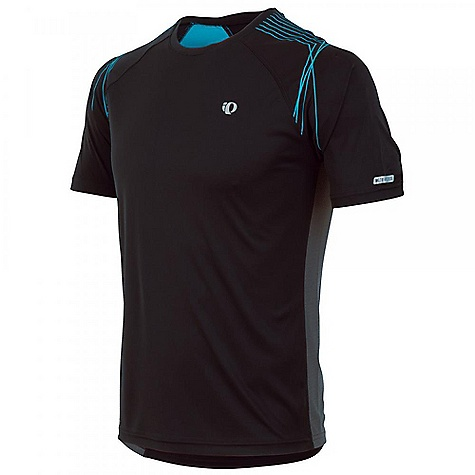 Fitness Pearl Izumi Men's Infinity In R Cool Short Sleeve Tee DECENT FEATURES of the The lightweight Infinity In-R-Cool Short Sleeve Tee The lightweight Infinity In-R-Cool(R) Short Sleeve Tee features the innovative In-R-Cool(R) technology that cools the body while you exercise and provides full body UV protection ELITE Transfer fabric with In-R-Cool(R) technology provides superior skin cooling and moisture management when you perspire The SPECS Direct-Vent panels provide superior ventilationsemi-form fit Reflective elements for low-light visibilityScreenprint design on the shoulder 8in. zipper for venting - $44.95