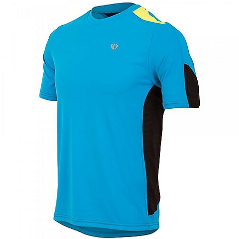 Fitness Pearl Izumi Men's Phase Short Sleeve Tee DECENT FEATURES of The Men's Phase Short Sleeve Tee SELECT Transfer fabric sets the benchmark for moisture transfer Direct-Vent panels provide superior ventilation The SPECS Loose fit Reflective elements for low-light visibility - $34.95