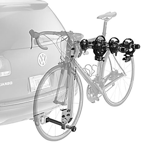 Entertainment Thule 971XT Helium Hitch Mount 3 Bike Rack - The Thule 971XT Helium has an ultra light weight aluminum construction making it nearly half the weight of traditional hitch mount racks, almost light enough to float away if your not careful. The T3 Cradles and No-Sway Cage prevents frame damage and bike-to-bike contact. The Hitch Switch folds arms down when not in use and tilts carrier out of the way to give access to the vehicles trunk, hatch, or tailgate. A built in locking cable gives you a piece of mind about the safety of your bikes. . Mount Type: Hitch, Bike Capacity: 3, Fork Mount: No, Product ID: 186852, Shipping Restriction: This item is not available for shipment outside of the United States. - $341.95