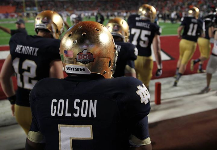 Sports BREAKING: Notre Dame has confirmed that starting QB Everett Golson is no longer enrolled at the school.