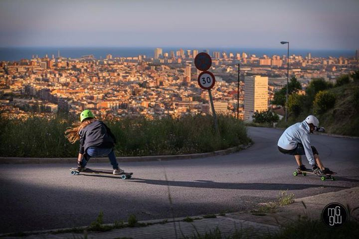 Skateboard Cristina Sanchez & Eider Walls rock. Hope you're all having a great skating weekend!   Pic Marta Guillen
