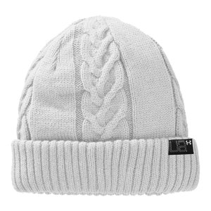 Fitness Classic cable-knit beanie amped up with our signature moisture-wicking, heat-trapping liningSoft and cozy fabric and fit for ultimate comfortUA laser-etched label on the cuff says this hat does more than look great; it performs greatWomen's one size fits all100% Polyester - $24.99