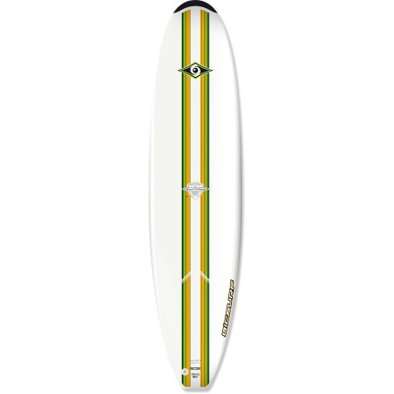 Kayak and Canoe A nimble board for medium-sized surfers, the BIC ACS Sport 7 ft. 9 in. Natural Surf 2 surfboard is also a great introduction if you're new to shortboards thanks to its stable, longboardlike shape. Foam-injected polyurethane board offers excellent buoyancy and is durable enough to handle a tussle with rocks or the ocean floor. Consistent 3 in. thickness and longboard shape with minimal tapering at head and tail enhance stability. FCS fin system features 3 removable fins (1 center and 2 side) to aid straight tracking in the water. Closeout. - $285.73