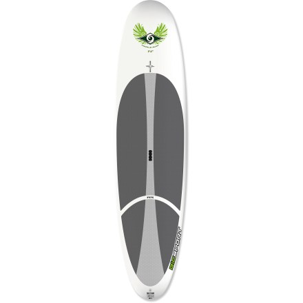 Kayak and Canoe If you're a small, first-time paddler or ready for a shorter, more maneuverable board, the BIC Sport ACS 9 ft. 4 in. stand up paddleboard offers a smooth, comfortable ride in waves or on flatwater. - $448.73