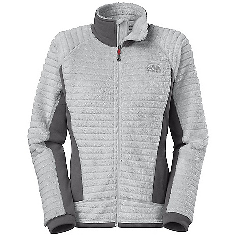 Climbing Free Shipping. The North Face Women's Radium Hi-Loft Jacket DECENT FEATURES of The North Face Women's Radium Hi-Loft Jacket Backcountry skiing, alpine climbing and mountaineering Highest warmth-to-weight ratio of any The North Face high loft fleece Exclusive Polartec low-density knit fabric minimizes weight and maximizes compressibility High loft fibers trap air, retaining body heat Harness-and pack-friendly handwarmer pockets The SPECS Average Weight: 12.9 oz / 365 g Fit: Active Body: 200 g/m2 (5.90 oz/yd2) Polartec Thermal Pro High Loft-96% polyester, 4% elastane 0.75in. baffles Stretch Side Panels: 241 g/m2 (7.11 oz/yd2) Polartec Power Stretch Pro-53% polyester, 38% nylon, 9% elastane smooth-face jersey fleece This product can only be shipped within the United States. Please don't hate us. - $169.95