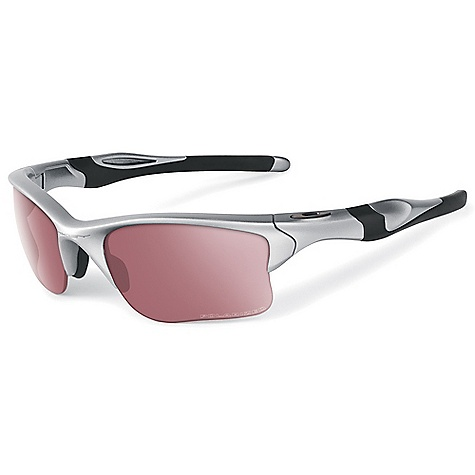 Free Shipping. Oakley Half Jacket 2.0 XL Polarized Sunglasses DECENT FEATURES of the Oakley Half Jacket 2.0 XL Polarized Sunglasses Durability and all-day comfort of lightweight, stress-resistant O matter frame material Comfort and performance of Three-Point Fit that holds the lenses in precise optical alignment Unobtainium components that increase grip when you sweat Metal icon accents Interchangeable lens design to optimize performance in any environment High Definition Optics for clarity, visual fidelity and impact resistance that meets all ANSI Z87.1 standards XYZ Optics to extend clarity to the edge of a wide peripheral view 8.75 base lens curvature that improves side protection against sun, wind and impact UV protection of Plutonite lens material that filters out 100% of UVA / UVB / UVC and harmful blue light up to 400nm Semi-rimless design for open downward view Polarized Options - Minimized glare via technology that produces the best polarized lenses on the planet Transitions Solfx photochromic lenses options: Darkens and lightens the lens in response to the environment Iridium coated lenses that reduce glare and balance light transmission - $180.00