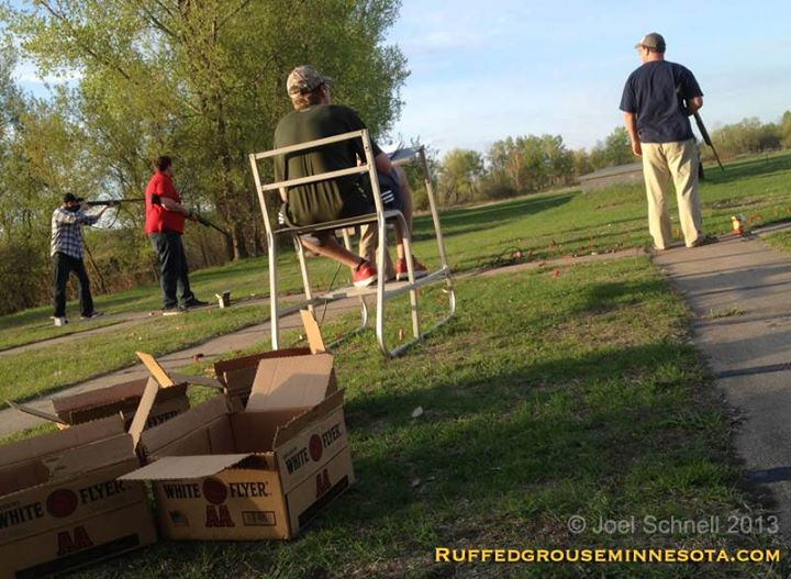 Hunting Trap or Skeet; both are good off-season practice for the Minnesota ruffed grouse gunner
