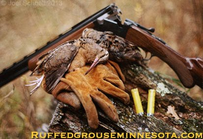Hunting A light weight 20 gauge, deerskin gloves, and a couple woodcock. These are a few of my favorite things