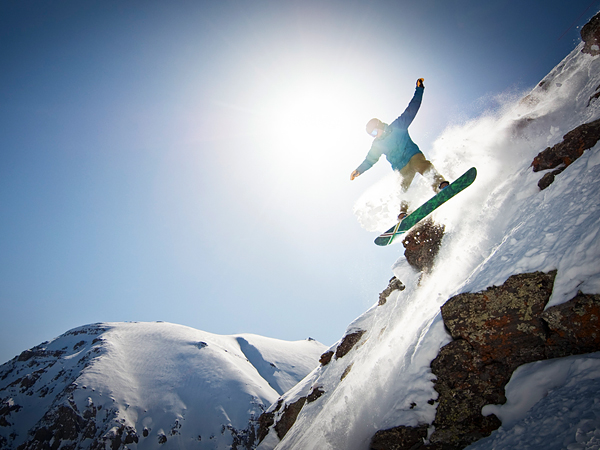 Snowboard Only 12 blocks long and with no stoplights, neon signs, or billboards, Telluride combines fine wine lists and funky bars with a spirited culture of diehard mountain lovers