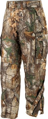 Hunting Cabelas O2 Octane camo pattern. Any species, any terrain, anytime. Continually evolving with updated technology and styling, Cabelas MT050 Whitetail Extreme Pants with GORE-TEX are the best option for wet- and cold-weather hunts. Improved with the reduced bulk of Advanced Zone insulation, weve placed Thinsulate Platinum Insulation in critical areas for ultimate warmth and mobility. Thinsulate Flex Insulation is strategically located in areas where ease of movement is key. Breathable and waterproof GORE-TEX shell keeps you dry and comfortable after hours in drizzle or snow. Adjustable cuffs. Leg zippers for easy on and off over boots. Two front pockets and two side cargo pockets. 150-gramAdvanced Zone Thinsulate Platinum Insulation through the front upper part of the pants, 100-gram below the knees for easily tucking into rubber boots, 100-gram Thinsulate Flex Insulation in the knees and 150-gram in the seat. Imported. Inseam: 32. Even waist sizes: 32-42. Camo patterns: Realtree XTRA, Cabelas Zonz Woodlands,Mossy Oak Break-Up Country, O2 Octane. Size: 34. Color: O2 Octane. Gender: Male. Age Group: Adult. Pattern: Camo. Type: Pants. - $179.99