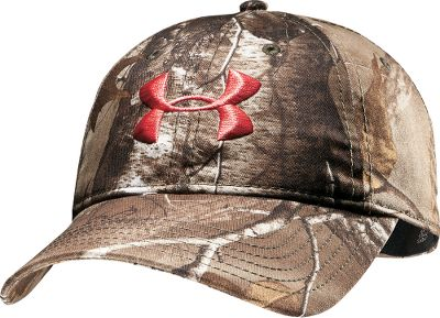 Hunting Under Armours Womens Camo Cap is the perfect addition to your hunting ensemble. Unstructured cap has a moisture-wicking HeatGear sweatband. 100% polyester construction. One size fits most. Imported. Camo pattern: Realtree XTRA. Size: One Size. Color: Realtree Xtra. Gender: Female. Age Group: Adult. Material: Polyester. - $24.99