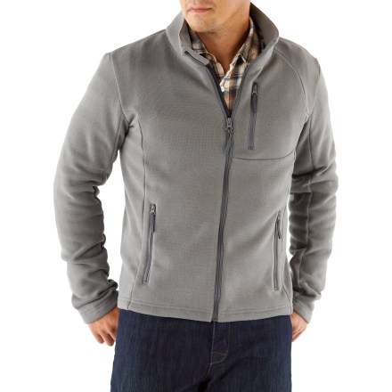 The men's Cordillera Serac fleece jacket offers a pleasing combination of warmth, softness and style. - $24.73