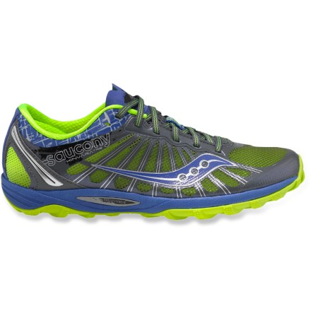 Fitness Boasting a minimalist, lightweight design and highly breathable uppers, the Saucony Kinvara TR 2 trail-running shoes outfit your feet for intense trail runs. - $49.83
