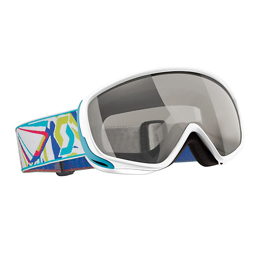 Ski Scott Dana Womens Goggles - Don't let the good looks fool you, the Scott Dana Goggles are all business. Peer just beneath the surface and you'll see top of the line features that will perfectly compliment your every need. The lightweight spherical OptiView double lenses are designed to be optically correct which offers the clearest possible vision at any angle of sight. To reduce the chance of fog buildup they have been treated with a No Fog permanent coating and have the ACS ventilation system to circulate the air when you're moving at speeds. The super comfy multi-layered face foam keeps moisture at bay and easily provides all day comfortable wear. They also offer seamless compatibility with a variety of helmet types. Nobody works harder for you than you but pick up the Scott Dana goggles and get this ''Go-To'' girl in your corner for those long days out on the slopes. Features: Permanent No Fog Anti-Fog Lens Treatments. Race: No, Category: Womens, OTG: No, Comes w/ Case: No, Special Feature: No, Frame Size: Small, Spherical Lens: Yes, Polarized: No, Photochromatic: No, Rubberized Strap: No, Helmet Compatible: Yes, Spare Lens Included: No, Goggle Ventilation: Medium, Goggle Lens Change: Moderate, Frame Size: Small/Medium, Lens Shape: Spherical, Lens Type: Mirrored, Model Year: 2012, Product ID: 240587, Model Number: 220817-SEWH-N32 - $49.97