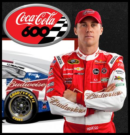Motorsports Congratulations to Realtree sponsored Kevin Harvick on winning his second Coca-Cola 600 in three years on Sunday!