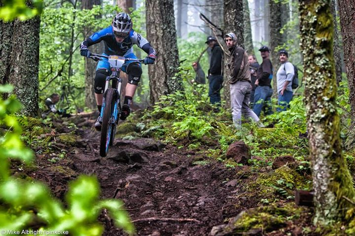 MTB Josh Carlson on his way to victory at the Hood River Enduro this past weekend while rocking a Contour+2! 