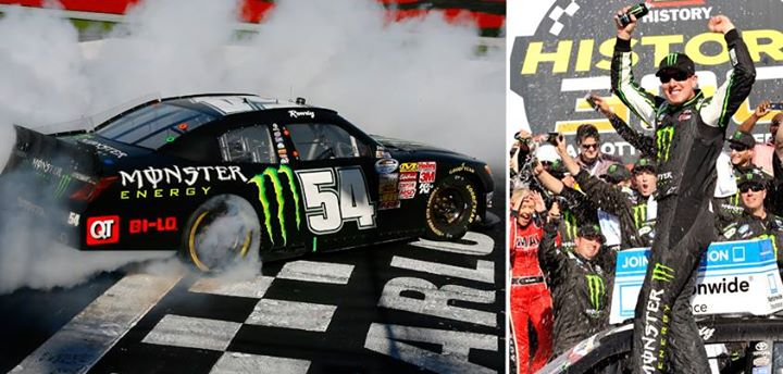 Motorsports Celebration time! Kyle Busch with some victory burnouts as he takes another NASCAR Nationwide win this weekend!