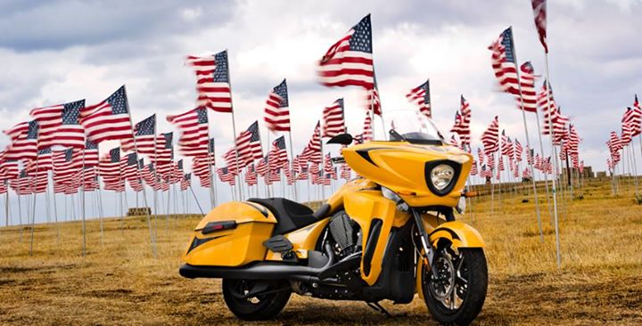 Auto and Cycle Memorial day is a day to remember to thank those who made the ultimate sacrifice to protect our freedom.    From all of us at Victory Motorcycles, we would like to say thank you to for your patriotism. You will not be forgotten.  R. Lee Ermey would also l