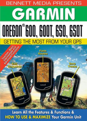 With the Garmin Oregon 600, 600T, 650, 650T Training DVD, getting started using your Garmin GPS unit has never been easier. You can learn all the features and functions, and how to maximize your Garmin unit. This Garmin training DVD has interactive menus for quick, easy chapter review and going to a specific location on the DVD. Step-by-step training walks you through the key features and functions of the Garmin unit - from the basics to advanced operation.The Garmin Oregon 600, 600T, 650, 650T Training DVD has everything you need to know to use your Garmin satellite navigator. 40 minutes.Step-by-step lessons include:Basic:IntroductionGetting StartedElectronic CompassStoring Your PositionGoing to a WaypointIntermediate:PositionWaypointsMap ScreenElevation PlotShare WirelesslyAdvanced:RoutesTracksEditingCameraMisc. FeaturesCustomizing - $29.95