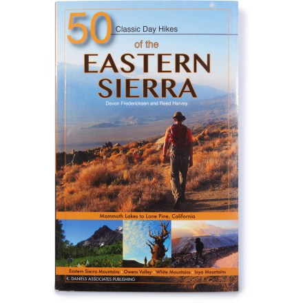 Camp and Hike Whether you're looking for a serious climb or an easy walk, 50 Classic Day Hikes of the Eastern Sierra describes plenty of places to enjoy the natural beauty of California's Sierra range. - $13.93