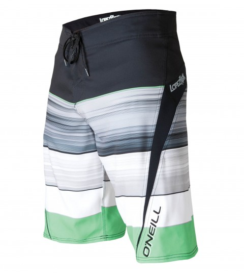 "Surf O'Neill Lopezfreak Boardshorts.  Psychostretch; 22"" outseam boardshort features techno butter neoprene panels; superfly closure; locking drawcord; side zipper pocket; embroidered; appliqued and screened logos. - $41.99"