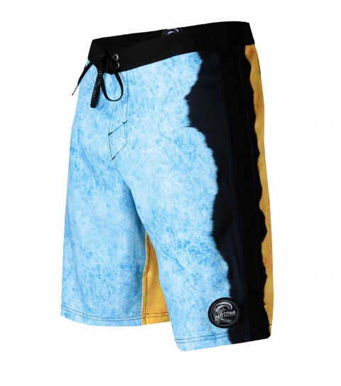 "Surf O'Neill Superfreak Retro Boardshorts.  Psychostretch; 20"" outseam boardshort features techno butter neoprene panels; superfly closure; locking drawcord; contrast waistband; back pocket; circle-surfer patch; embroidered and screened logos. - $38.99"
