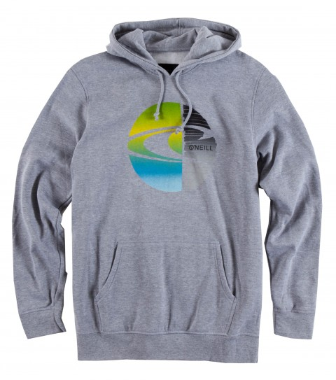 Surf O'Neill Lucid Hoodie.  50% Cotton / 50% Poly.  30 singles modern fit pullover hoodie with softhand screenprint. - $33.99