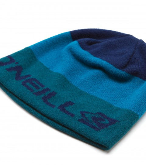 Surf O'Neill Fronted Beanie.  Reversible beanie; 1 side color blocked with jacquard logos; 1 side solid with jacquard logo detail. - $14.99