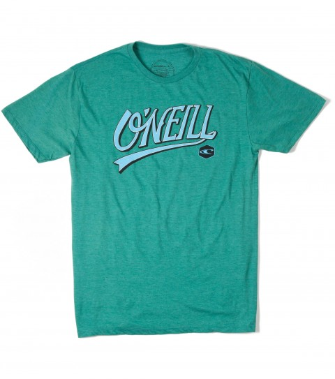 Surf O'Neill Non Stop Tee.  50% Cotton / 50% Poly.  30 singles modern fit heather tee with softhand screenprint. - $13.99