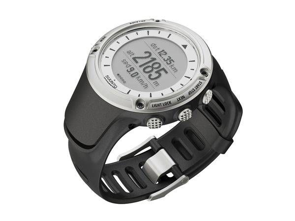 Fitness The latest and greatest adventure/fitness watch for trail runners, the Suunto Ambit uses a full-feature, accelerometer-integrated GPS that accurately tracks pace, speed, and distance, while a heart-rate monitor tracks heartbeats from a comfortable chest s
