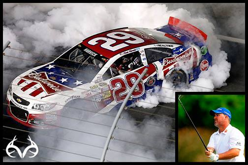 Motorsports Realtree celebrates Memorial Day with wins in NASCAR and golf! Click here: http://bit.ly/10FwPAz