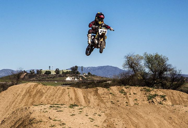 Motorsports PHOTO OF THE DAY: M/M Mini Troop DangerBoy Deegan training for Loretta Lynn's Mx at the Metal Mulisha Compound.