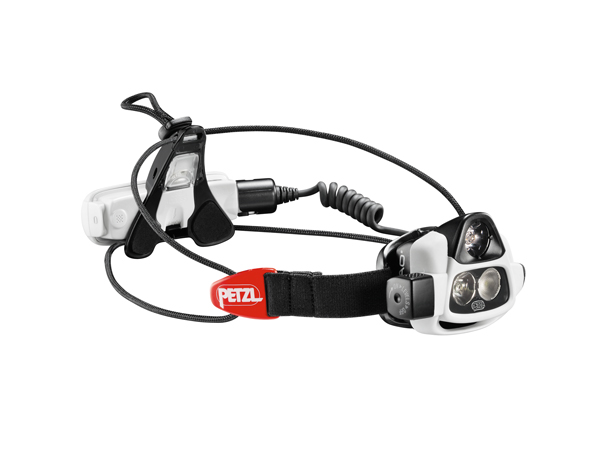 "Fishing Petzl's ""reactive"" Nao headlamp automatically alters its beam and intensity depending on where you're looking   $175"