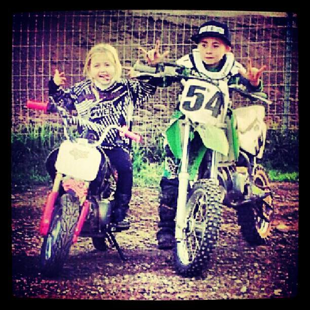Motorsports M/M TROOP: rynsnider // Metal Mulisha Mini Troops in full effect right here. Training for the future!   * Want your photo featured? Follow @metalmulisha on Instagram and tag #metalmulisha in all your photos wearing MM or riding.