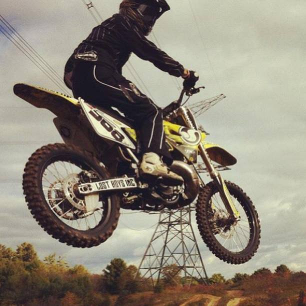 Motorsports M/M TROOP: brb368 // airing it out at his local spot.   * Want your photo featured? Follow @metalmulisha on Instagram and tag #metalmulisha in all your photos wearing MM or riding.