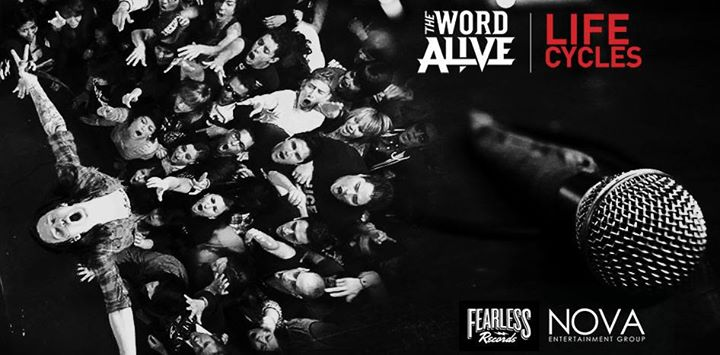"Entertainment Check out the brand new video for ""Life Cycles"" - the title track from The Word Alive's current album. The band is on tour in Europe now with Sleeping With Sirens, and return to the  U.S. next month as support to Killswitch Engage.   Click to join the par"