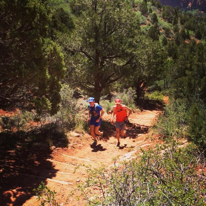 Camp and Hike Team ultrarunner Mike Foote and Justin Yates of Missoula, Montana just set the fastest known time of the Zion National Park traverse this past weekend in 7 hours, 22 mins. That's 48 miles with a total climb of roughly 10,000 feet. Wish this pair congrats!