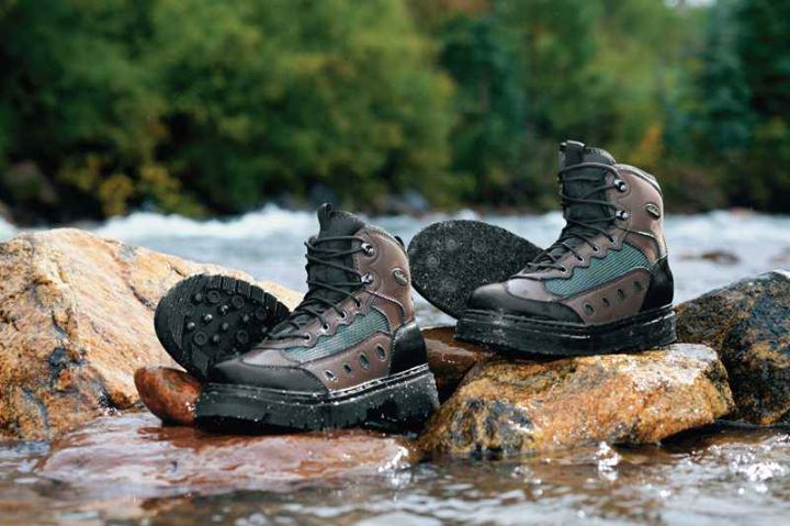 Camp and Hike The Cabela's Ultralight 2 Felt Wading Boots: http://bit.ly/11ncONS